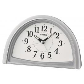 Seiko wekker Kunststof zilverkleurig QHE166S