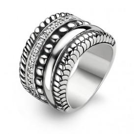 Ti Sento 1835ZI ring Maat 54 is 17.25mm