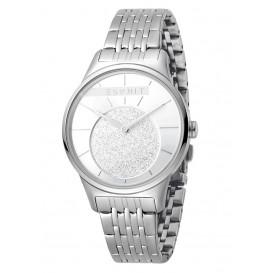 Esprit Horloge Grace staal 34 mm zilverkleurig-wit ES1L026M0045