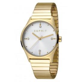 Esprit Horloge VinRose staal/rekband 34 mm rosékleurig-wit ES1L032E0075