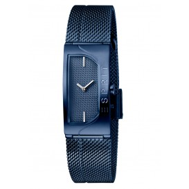 Esprit Horloge Houston Blaze staal 18 mm blauw ES1L045M0065