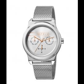 Esprit ES1L077M0045 Horloge Magnolia Mesh 34 mm zilverkleurig-1