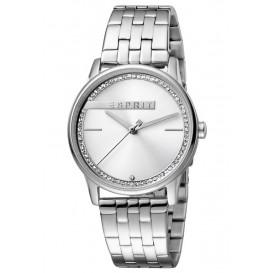 Esprit ES1L082M0035 Horloge Rock 34 mm zilverkleurig
