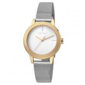 Esprit ES1L105M0085 Horloge Bloom staal zilver- en goudkleurig