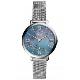 Fossil ES4322 Horloge Jacqueline blauwe wijzerplaat 36 mm