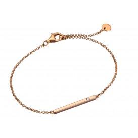 Esprit Armband Iva zilver rosékleurig 18-21 cm ESBR00161318