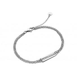 Esprit Armband Luna staal zilverkleurig 18-21 cm ESBR00182118