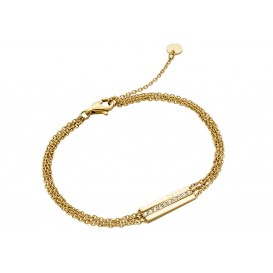 Esprit Armband Luna staal goudkleurig 18-21 cm ESBR00182218