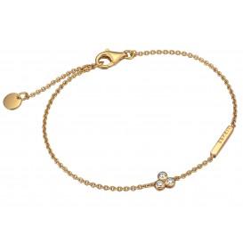Esprit Armband Play zilver goudkleurig 18-21 cm ESBR00191218