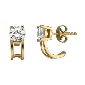 Esprit Oorbellen Lilian zilver goudkleurig ESER00101200