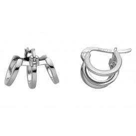 Esprit Oorbellen Iva zilver zilverkleurig ESER0161100
