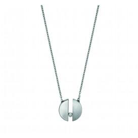 Esprit Ketting Laurel staal zilverkleurig 42-45 cm ESNL00142142