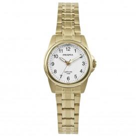 Prisma Dames P.1858 Horloge Edelstaal Saffier 10 ATM P.1858 Dameshorloge 1
