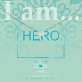 Heart to get IAM415N-HERO-S hero ketting zilver