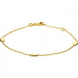 Armband Goud 1,2 mm 17 - 19 cm