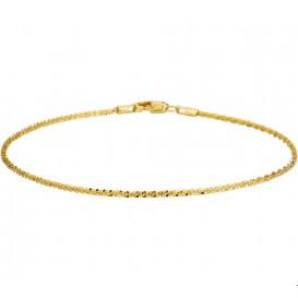 Armband Goud Getordeerd 1,4 mm 18 cm