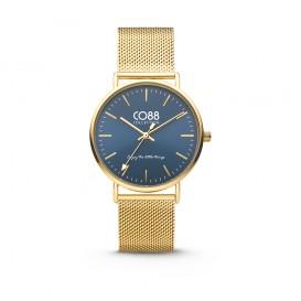 CO88 Collection 8CW-10012 - Horloge - Mesh - geelgoudkleurig - 36 mm