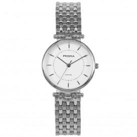 Prisma Horloge P.1679 Dames titanium saffierglas 5 ATM P.1679 Dameshorloge 1