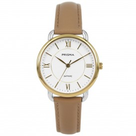 Prisma horloge 1972 dames edelstaal saffierglas 5 ATM P.1972 Dameshorloge 1