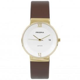 Prisma horloge 1940 dames edelstaal saffierglas 5 ATM P.1940 Dameshorloge 1