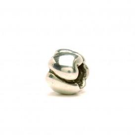 Trollbeads bedel zilver Harten klein TAGBE-00240