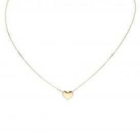 Glow Gouden Collier Met Hanger - Hart 42+3cm 202.2058.45