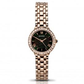 Sekonda Horloge 2148 Dames Roségoud Strass SEK.2148 Dameshorloge 1
