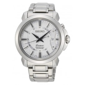 Seiko Premier herenhorloge Quartz Analoog 41,5 mm SNQ155P1