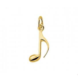 Bedel Muzieknoot Goud