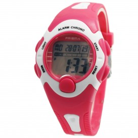 Prisma horloge 33H220504 Kids  HT Digi Roze P.1394 Kinderhorloge