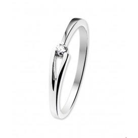 TFT Ring Diamant 0.07 Ct. Witgoud