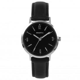 Prisma Horloge 1507 Dames Edelstaal Slimline P.1507 Dameshorloge 1