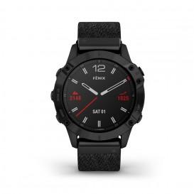 Garmin 010-02158-17 Fenix 6 Multisport GPS Smartwatch, DLC en saffierglas