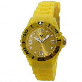Prisma Summer Time geel P.2960 Herenhorloge
