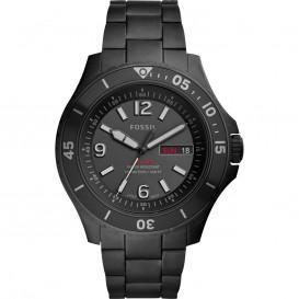 Fossil FS5688 Horloge staal zwart 48 mm