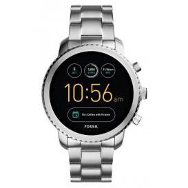 Fossil Q Explorist Smartwatch Stalen band FTW4000