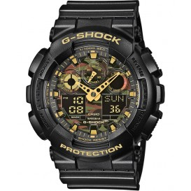 Casio G-Shock GA-100CF-1A9ER Chronograaf Antimagnetisch 55 mm