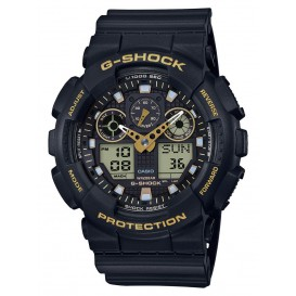 Casio G-Shock zwart 55 mm ø GA-100GBX-1A9ER