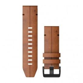 Garmin 010-12864-05 Horlogeband Fenix Quick Fit Chestnut leder 6 x 26 mm