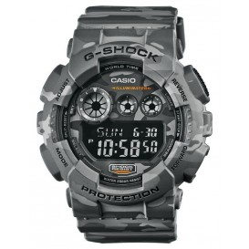 Casio G-Shock Chronograaf en Displayflitser GD-120CM-8ER