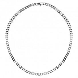 FirstChoice GSP6 Ketting zilver Gourmet 6,0 mm breed 44,7 gram 55 cm