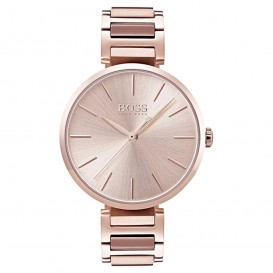 Hugo Boss HB1502418 Dameshorloge Allusion staal rosekleurig 36 mm
