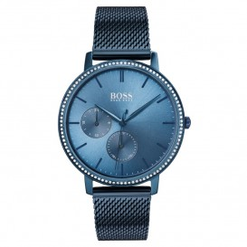 Hugo Boss HB1502518 Dameshorloge Infinity staal blauw 35 mm
