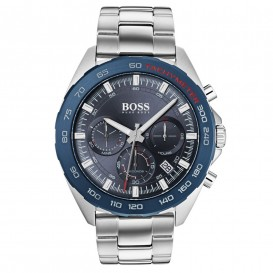 Hugo Boss HB1513665 Horloge Intensity chronograaf staal 44 mm