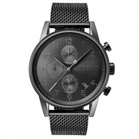 Hugo Boss HB1513674 Horloge Navigator chrono antraciet 44 mm