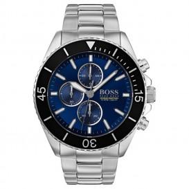 Hugo Boss HB1513704 Horloge Ocean chronograaf staal 46 mm