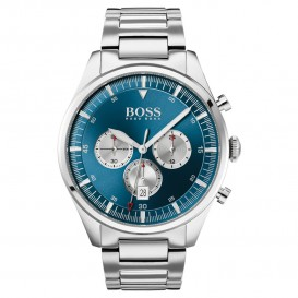 Hugo Boss HB1513713 Herenhorloge Chronograaf Pioneer staal 44 mm