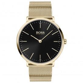 Hugo Boss HB1513735 Horloge Horizon staal goudkleurig 40 mm