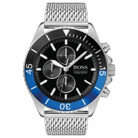 Hugo Boss HB1513742 Herenhorloge Chronograaf Ocean staal 46 mm