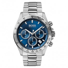 Hugo Boss HB1513755 Herenhorloge Chronograaf Hero staal 43 mm